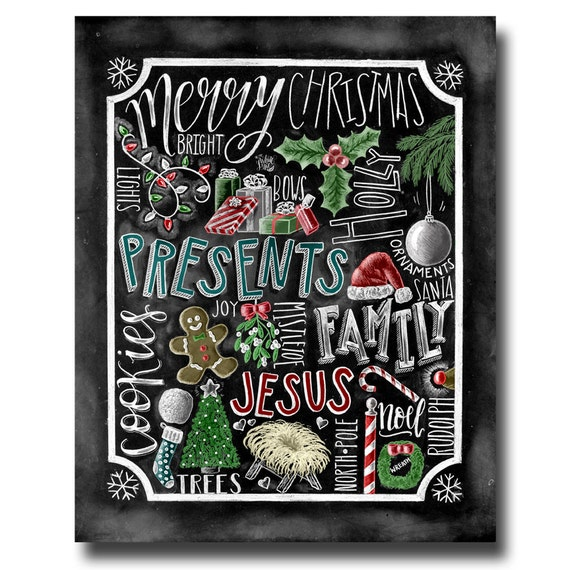 Blackboard Artwork Ideas: Christmas Decor Christmas Art Jesus Chalkboard Art Chalk