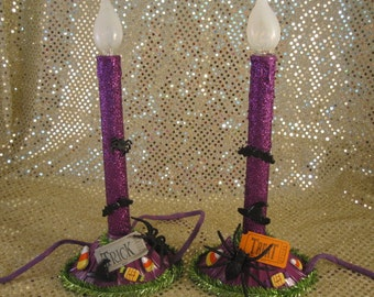 Halloween Electric Window Candles