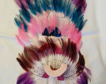 Fantasy feathers for any ooak creations faery or doll,different colors, piume colorate, creatività, artigianato, fate o bambole ooak