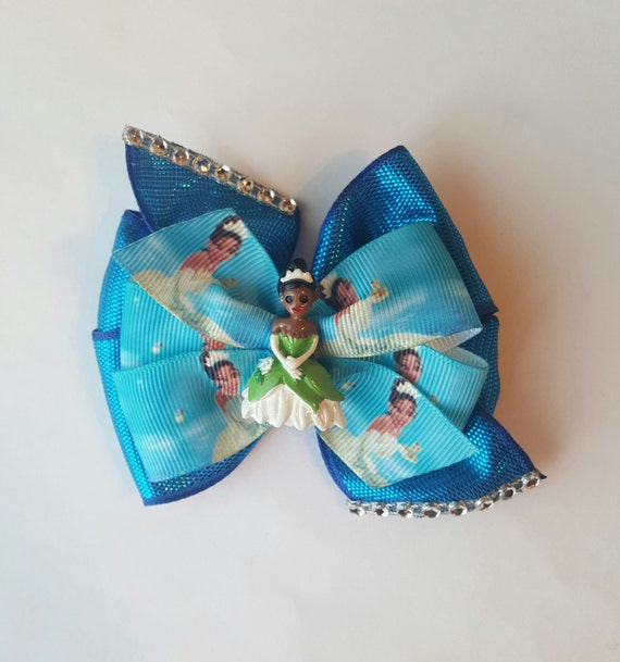 Princess Tiana Hair: Princess Tiana Hair Bow