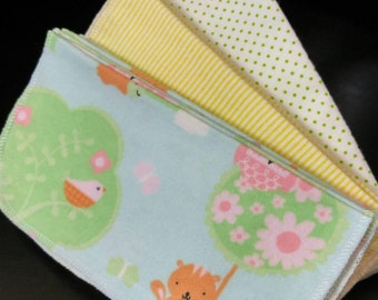 30 Reusable Cloth Baby Wipes
