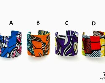 Big Ankara Bangle, Ankara  Bracelet , Fabric Bracelet, Ankara fabric, For her , Gift