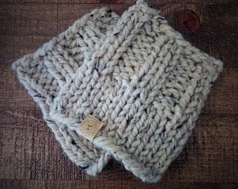 Simply Boot Cuff - chunky knit boot cuffs