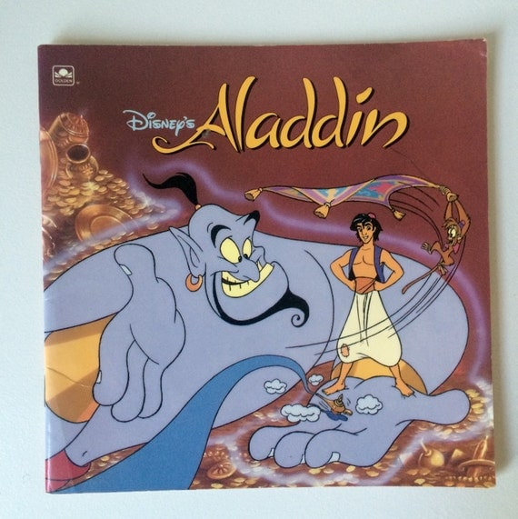 aladdin golden books