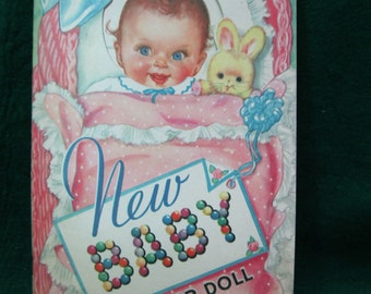 Merrill New Baby Paper Doll #4827 - 1943