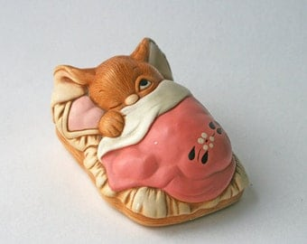 Pendelfin figure 'Peeps', rabbit figurine. 1960s collectable.
