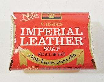 16 Bars Vtg Cussons Imperial Leather Soap 2.75 oz. Each - NOS New