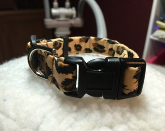 Little leopard collar