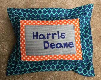 Baby Name Pillow PDF Sewing Pattern, Nursery Pillow,  Personalized Baby Pillow, Custom Baby Pillow