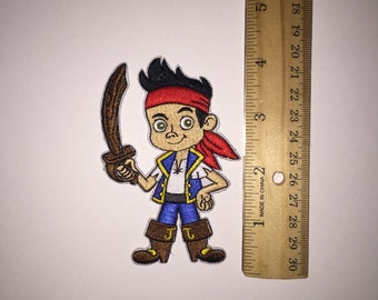 ready to ship Jake in the Neverland pirate patch