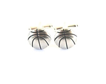 Basketball Cuff Links- Basketball Gifts- Gifts For Men