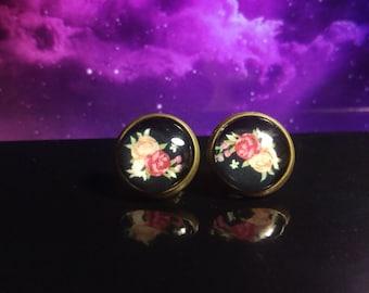 12mm Glass earrings
