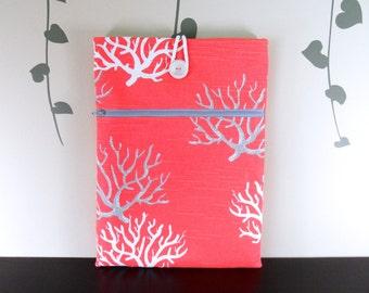 Laptop sleeve - Coral