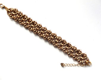 "Beaded bracelet ""Helena"""