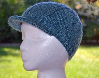 Newsboy hat, Knit newsboy hat, knit boys hat, knit hat, boys hat, girls hat, newsboy cap, knit girls hat.