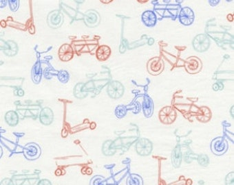 On the Go in Aqua, Children At Play by Sarah Jane  OOP HTF Designer Cotton Fabric Fat Quarter