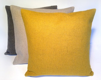 Cushion in Kvadrat Tonica fabric