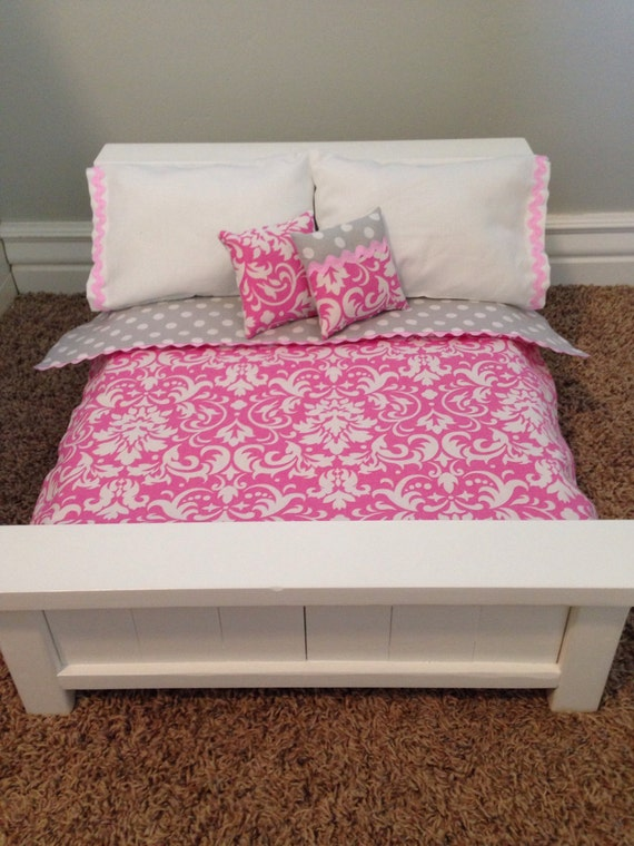 American Girl Doll Bed Queen Size Farmhouse Style With