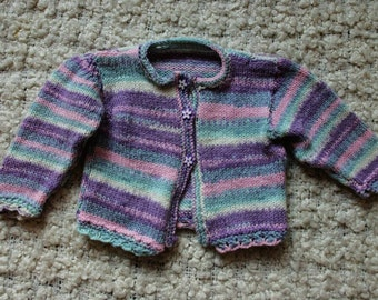 Knitted baby clothes/crochet baby clothes/ vintage/ baby/ knitted/sweater