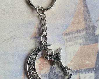 Magical Fairy Moon Keyring