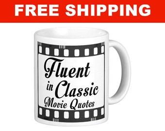Classic Movie Quotes Mug - 11 oz