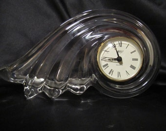 Crystal Shell Clock