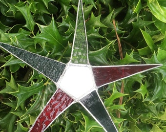Red-white-green star