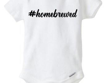 Homebrewed onesie