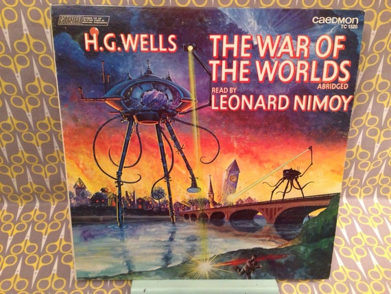 HG Wells Read By Leonard Nimoy The War Of The Worlds Abridged