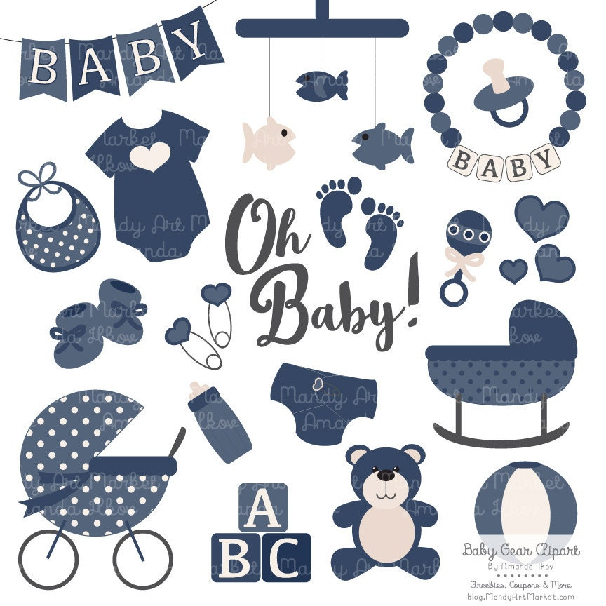 Baby Stuff Clipart – Cliparts