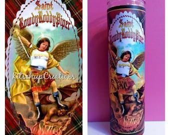 Rowdy Roddy Pipper prayer candle