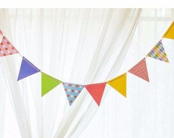 Fun Party Flags Banner