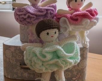Ballerina Belles PDF Crochet Pattern