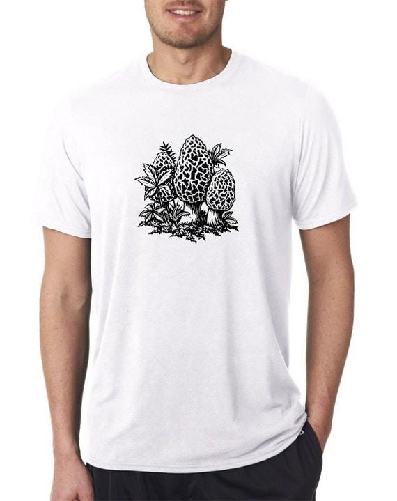 black morel t shirt white 100 polyester heat press dyed