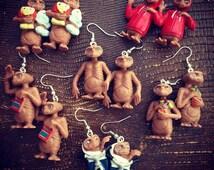 E.T. Earrings aliens so cute!