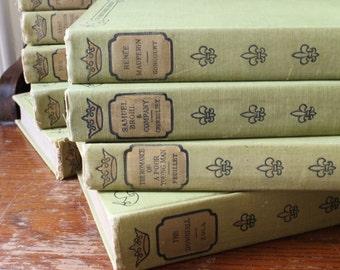 Vintage Books The French Classical Romances / French Literature / Edmund Gosse / 1902 D. Appelton & Co Publisher