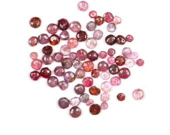 Spinel drilled beads
