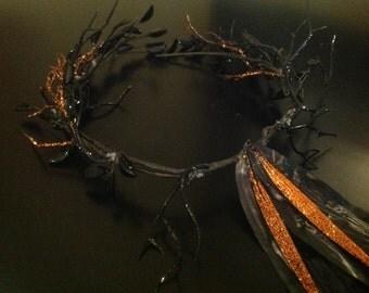Dark Forest Fairy Crown