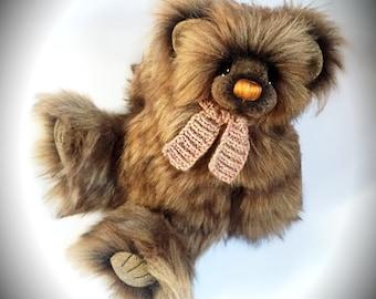 SALE! Nutmeg- OOAK Artist Bear by Devine Bears