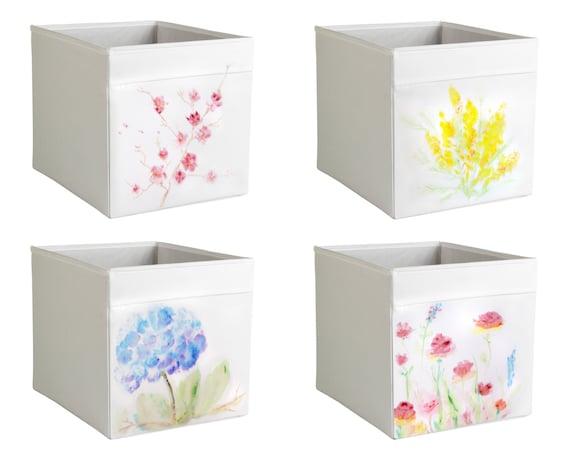 customized ikea drona storage 1 white box expedit kallax. Black Bedroom Furniture Sets. Home Design Ideas