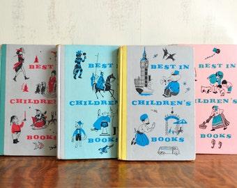15 Vintage Best in Children's Books, Hardcover, Classic Nursery Stories