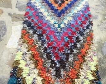 Boucherouite vintage carpet