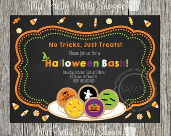 Halloween Trick Or Treat Party Invitation