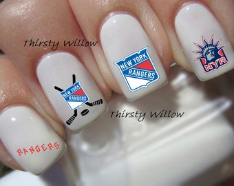 New York Rangers Nail Decals