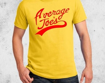 Average Joe's T-shirt Dodgeball Joes Team Halloween Costume shirts Adult Youth Toddler Baby sizes