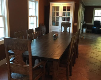 Custom Handmade Farm/Dining Tables