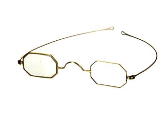 14k gold eyeglasses spectacles from the pre Civil War era
