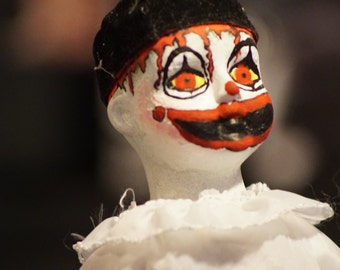 Bonko the Clown - OOAK Horror Doll