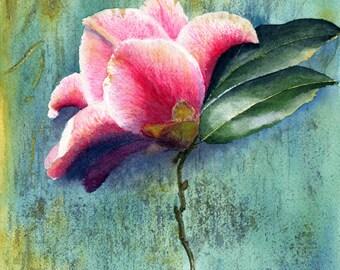 Camellia Original Watercolour