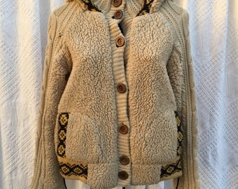 Cozy Wool Knit Sweater by JACK BB Dakota size S